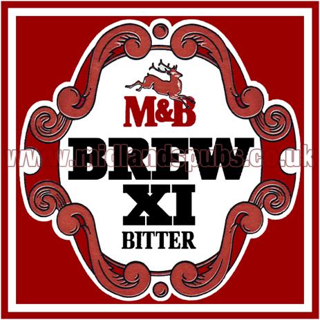 Mitchell's & Butler's Brew XI Bitter