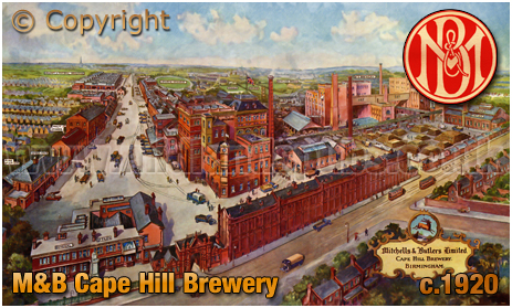 Mitchells's and Butler's Cape Hill Brewery