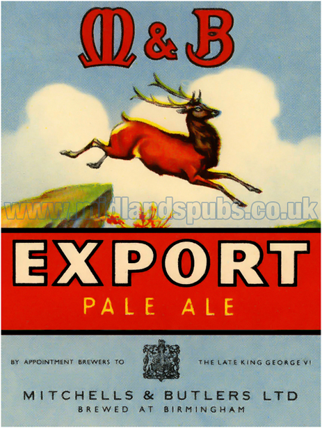 Mitchells's and Butler's Export Pale Ale