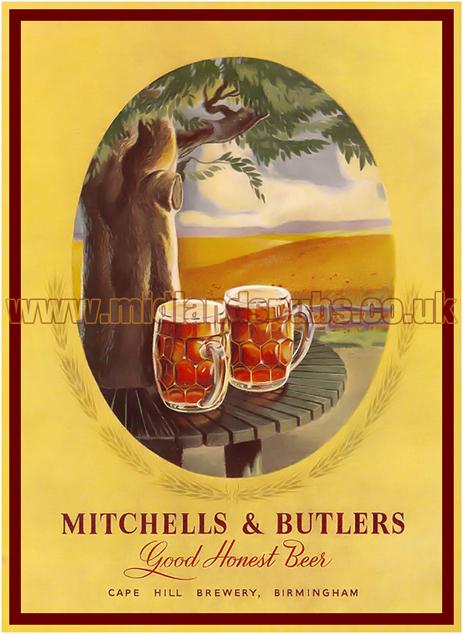 Mitchells's and Butler's - Good Honest Beer