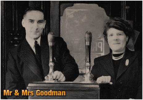 Mitchell's & Butler's : Mr. and Mrs. Goodman of the Edgbaston Hotel at Lee Bank Road [1953]