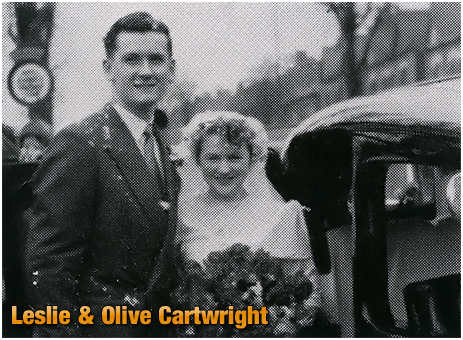 Mitchell's & Butler's : Marriage of Leslie and Olive Cartwright [1953]