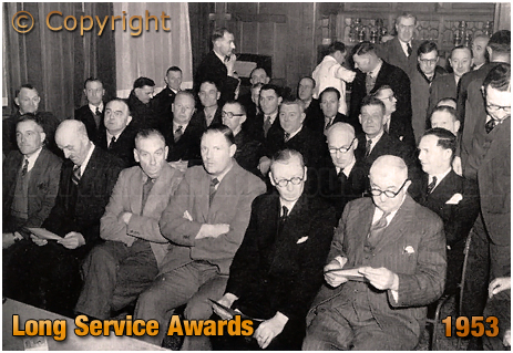 Mitchell's & Butler's : Long Service Awards [1953]