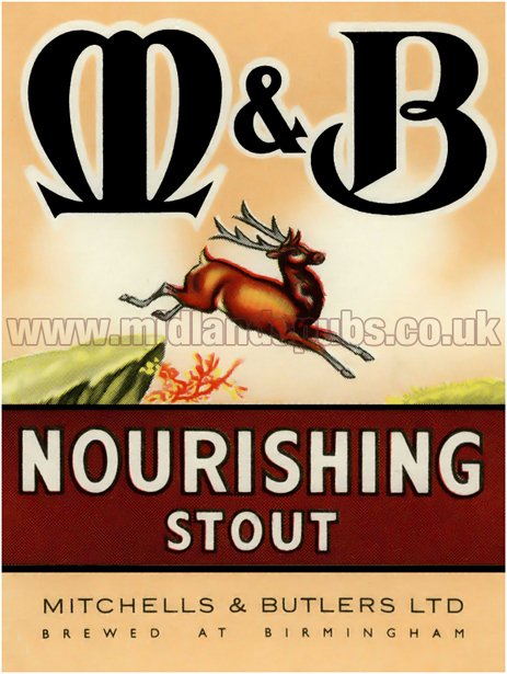 Mitchells's and Butler's Nourishing Stout