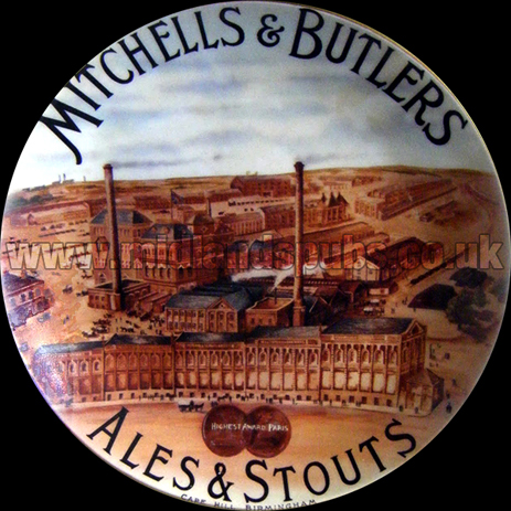 Mitchells's and Butler's Plate