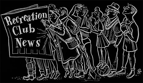 Mitchell&s & Butler&s : Recreation Club News [1953]