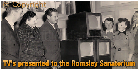 Mitchell's & Butler's : Televisions presented to the Romsley Sanatorium [1953]