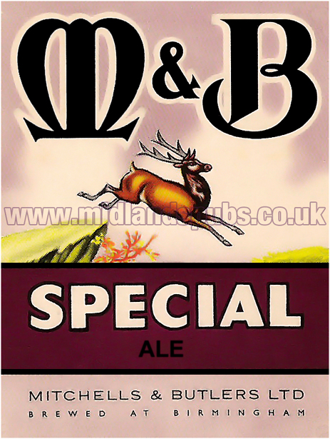 Mitchells's and Butler's Special Ale