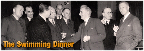 Mitchell's & Butler's : Swimming Dinner [1953]
