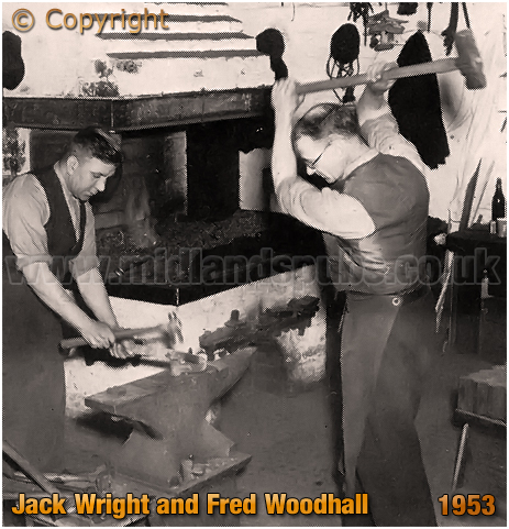 Mitchell's & Butler's : Jack Wright and Fred Woodhall at their Anvil [1953]