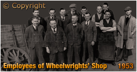 Mitchell's & Butler's : Employees of the Wheelwrights' Shop [1953]