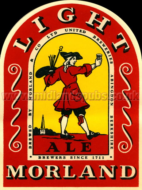 Morland Light Ale Beer Label [c.1950s]