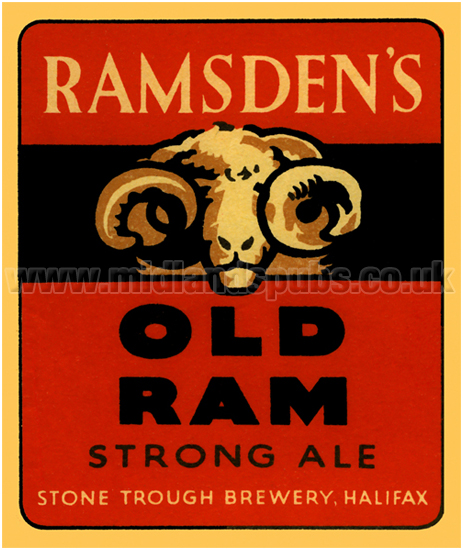 Ramsden's Old Ram Strong Ale