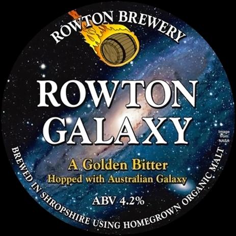 Rowton Galaxy Golden Bitter