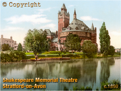 Shakespeare Memorial Theatre on Stratford-on-Avon