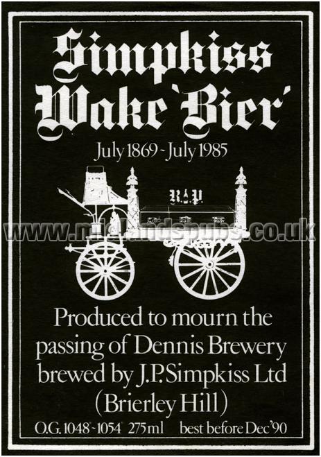 Simpkiss Wake Bier