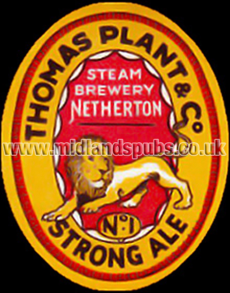 Beer Label for Thomas Plant & Co. No.1 Strong Ale