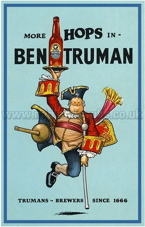 Truman's : More Hops in Ben Truman