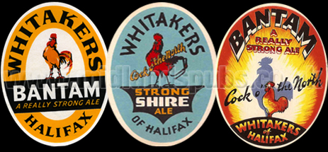 Whitaker's Beer Labels