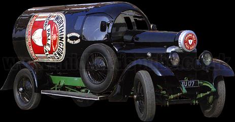 Worthington's Daimler Car