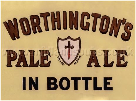 Worthington's Pale Ale in Bottle