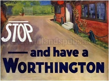 Stop and have a Worthington