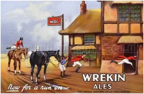 Wrekin Ales Playing Card