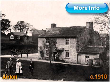 Yorkshire : The Green at Airton [c.1910-9]