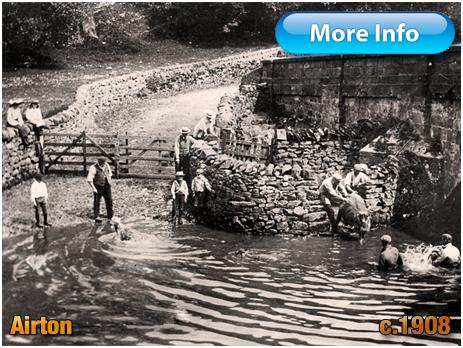 Yorkshire : Sheep Washing at Airton [c.1908]