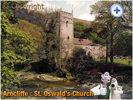 Arncliffe : Saint Oswald's Church [c.1968]