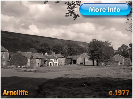 Yorkshire : Village Green and Water Pump at Arncliffe [c.1977]