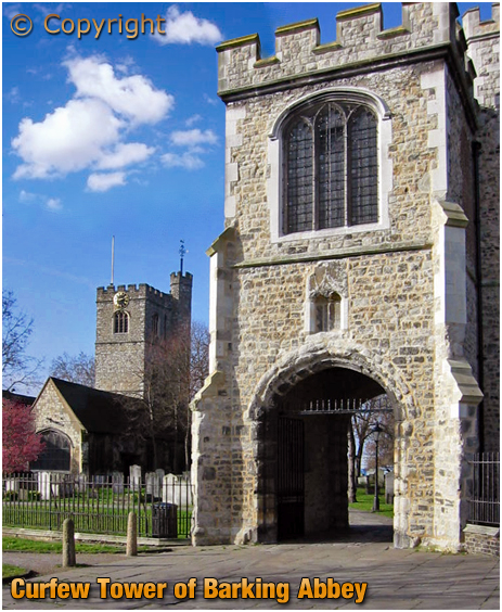 Barking : Curfew Tower of Abbey and the Church of Saint Margaret of Antioch [2019]