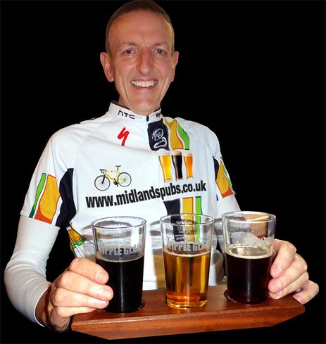 Beer Drinking Cyclist