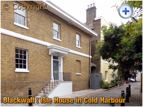 Blackwall : Isle House in Cold Harbour