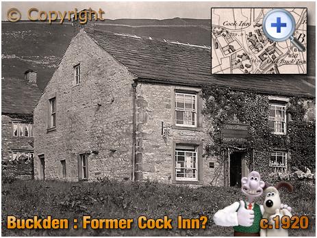 Buckden : Former Cock Inn at Upper Wharfedale [c.1920]