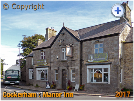 Cockerham : Manor Inn [2017]
