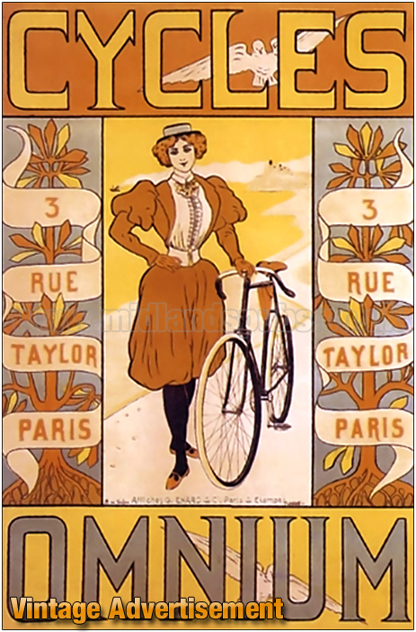 Advertisement for Omnium Cycles