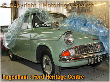 Dagenham : Ford Heritage Centre [Courtesy of Motoring Research]