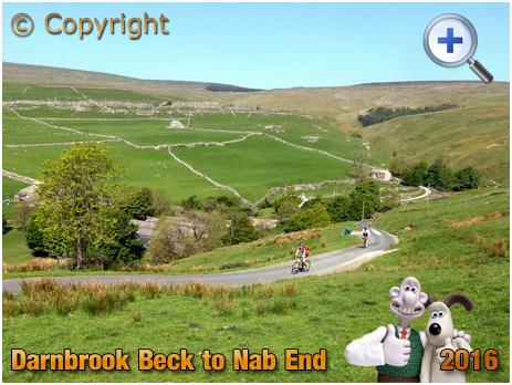 Darnbrook Beck : Cycle Climb to Nab End [2016]