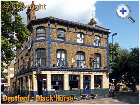 London : Black Horse on Evelyn Street at Deptford