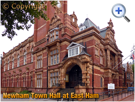 Newham Town Hall at East Ham [2019]
