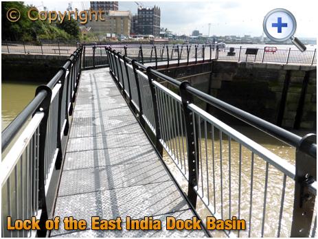 Lock Gates of the East India Dock Basin