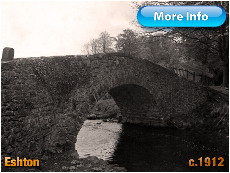 Yorkshire : Brockabank Bridge at Eshton [c.1912]