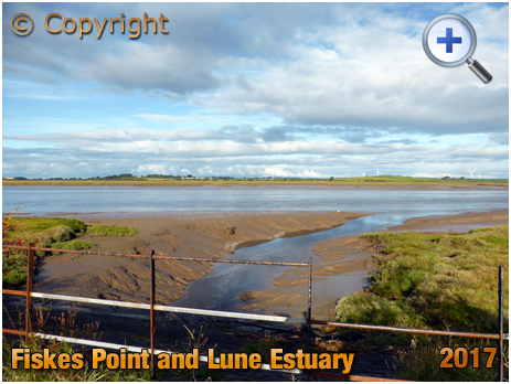 Conder Green : Looking across the Lune Estuary towards Fiskes Point [2017]