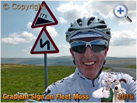 Gradient Sign on Fleet Moss [2016]