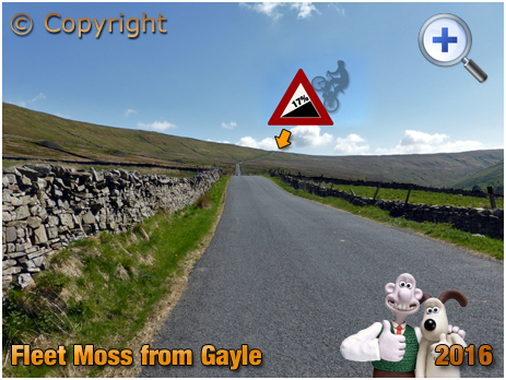 Approach to Fleet Moss Cycle Climb from Gayle [2016]