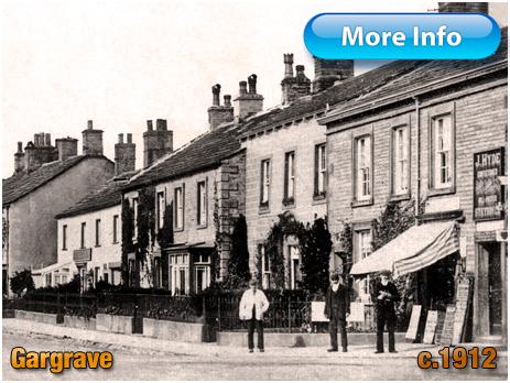 Yorkshire : Confectioner and Newsagent's Shop on Gargrave High Street [c.1910]