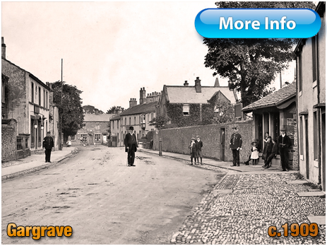 Yorkshire : High Street at Gargrave [c.1909]