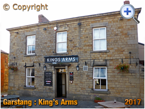 Garstang : King's Arms in the High Street [2017]