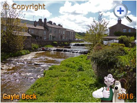 Gayle Beck near Hawes in Wensleydale [2016]